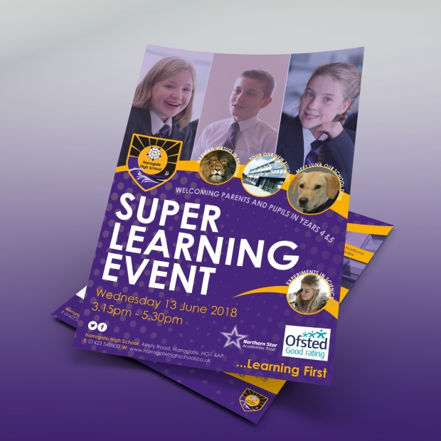 Super Learning Flyer Mock up